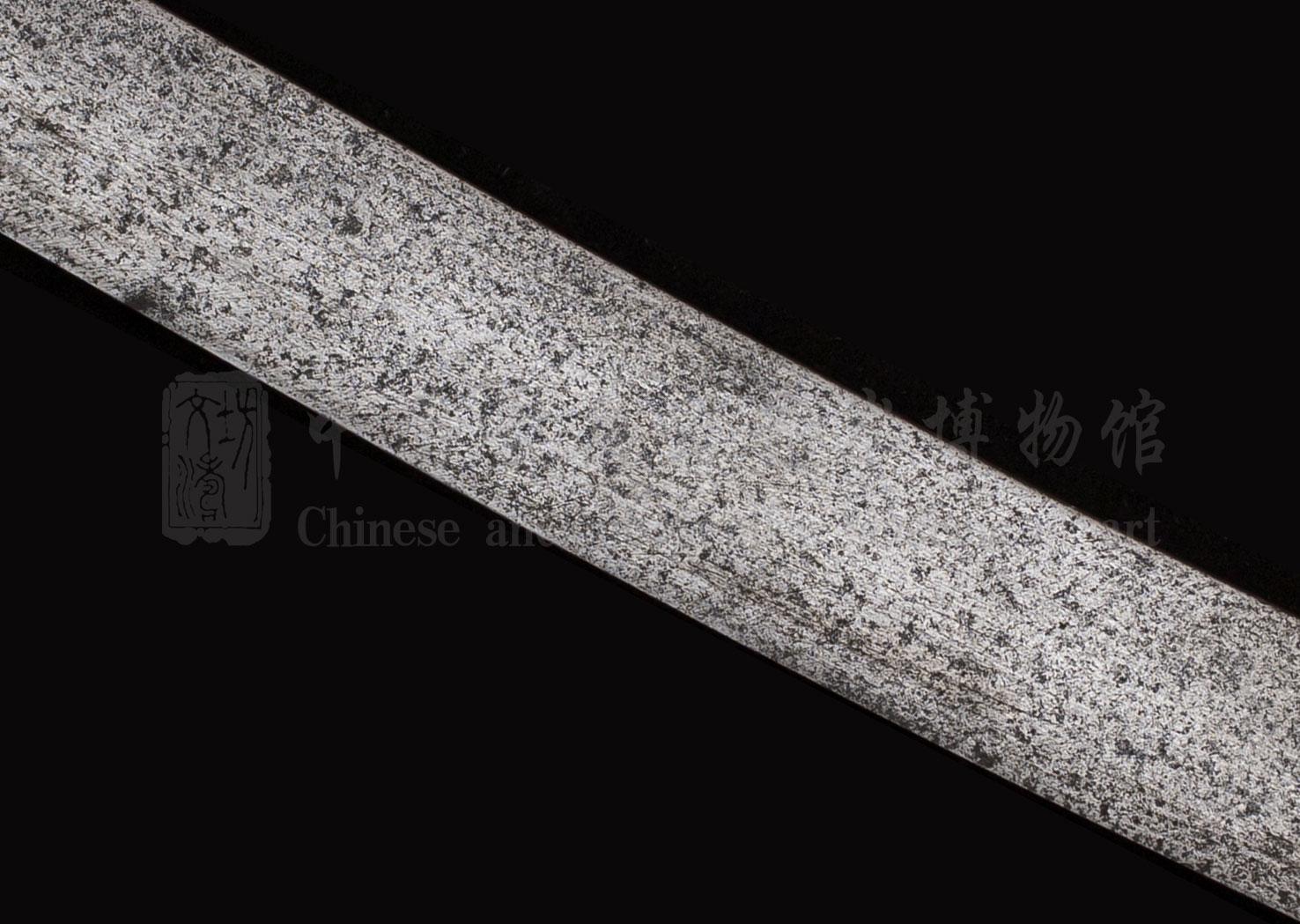 旧黄铜_卷云纹腰刀